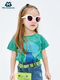 $enCountryForm.capitalKeyWord UK - 2019 New Children's Shirt Baby Shirt Simple and dynamic Mini cute girl summer loose short sleeve T-shirt