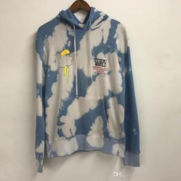Floral pullover hoodie online shopping - Travis Scott Astroworld Cloud tie Dye Hoodies Men Women Casual Streetwear Hip Hop D Graffiti Astroworld Sweatshirts Pullover