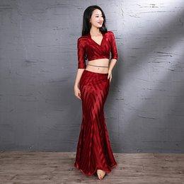 Bellydance Oriental Eastern Asian Desert Swings Robe Belly Dance Dancing Costumes Clothes Bra Belt Skirt Dress Set Suit 3525 Belly Dancing Stage & Dance Wear