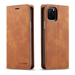 Magnet notes online shopping - Original FORWENW Magnetic Leather Wallet Case Leather Bumper With Card Slot Flip Magnet Cover For iPhone Xs max samsung S10 HUAWEI p20 p30