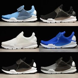 kids white socks black shoes Australia - 2019 Presto Mesh Fragment X Sock Dart SP Lode Women Mens Trainers Shoes Red White Blue Black Luxury Designer Breathable Kids Running Shoes
