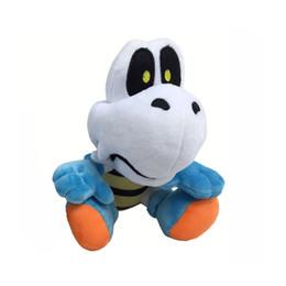 TurTle plush online shopping - 17cm Super Mario Skeleton turtle Plush Stuffed Toy Skeleton turtle Super Mario plush toys best gift doll lol