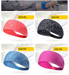 sport hairbands Australia - Sweaty Non-slip U&a Mens Athletic Head Band Brand Elastic Hairbands Women Lady Yoga Sports Headwrap Luxury Hair Bandana Scrunchies C110401