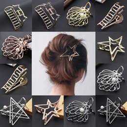Wholesale Sale PC Metal Modern Stylish Hair Claw Clips Hairband Fashion Women Hair Accessories