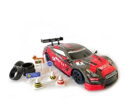 high speed rc drift car NZ - 2020 New 4WD drive rapid drift car Remote Control GTR Car 2.4G Radio Control Off-Road Vehicle RC car Drift High Speed Model