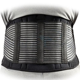 Tourmaline self heaTing magneTic Therapy waisT online shopping - Tourmaline Self heating Magnetic Therapy Waist Support Sport Waistband Fitness Breathable Brace Lower Back Safety Belt Mens