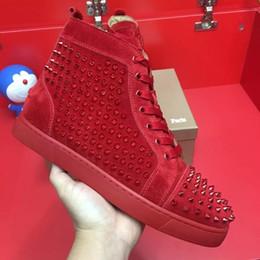 Размер 36-46 Мужчины Женщины Кроссовки Обувь с шипами Toe с низким верхом Красные нижние туфли Модные кроссовки, унисекс Luxury Comfort Повседневная обувь для ходьбы на Распродаже