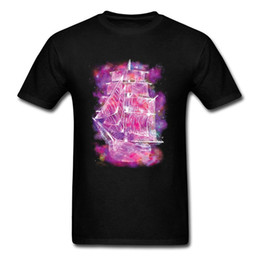 $enCountryForm.capitalKeyWord UK - Space Dreamer Purple Tshirt Men Funny T Shirts Cotton Fitted Men's Travel Round World Mode Tee Shirt For Adult Hot Sale