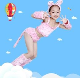 $enCountryForm.capitalKeyWord Australia - New style children Cosplay cat Animal perform clothing Boys and girls Dance Conjoined clothes