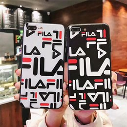 $enCountryForm.capitalKeyWord Australia - Wholesale Luxury TPU phone case fashion For iPhone 6S 7 8 P X XS Graffiti letters Designer phone back cover For gift