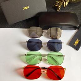 Sunglasses Original Packing Australia - New High Quality Designer brand fashion JINNNN ROOMER Sunglasses men sunglasses women sun glasses with original packing box