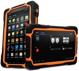 Original 4G LTE T70 V2 Tablet PC 3GB RAM +32GB ROM 7Inch Cell PhoneQuad core 64bit IP68 waterproof Shockproof 13MP 9650mAh Type C on Sale