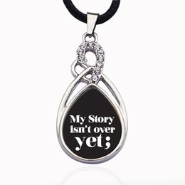 $enCountryForm.capitalKeyWord Australia - MY STORY ISN'T OVER YET SEMICOLON MOVEMENT CIRCLE CHARM Necklaces Pendasnts in Pendant Necklaces