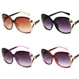 Wide Framed Glasses Australia - Sunglasses Fashionable Hollow-out Sunglasses Ladies Fashionable Big Frame, Shaved Face, Wide-set Glasses Women Gradual Change Point, Sunglas