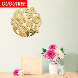 $enCountryForm.capitalKeyWord NZ - Decorate Home 3D flower cartoon mirror art wall sticker decoration Decals mural painting Removable Decor Wallpaper G-290