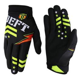 Black Yellow Bicycle Gloves Australia - winter warm motorcycle riding gloves motocross gloves full finger bike bicycle gloves BMX