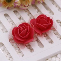 $enCountryForm.capitalKeyWord Australia - Artificial Mini Foam Rose Head Flowers For Home Wedding Decoration Diy Needlework Bride Wreath Gift Box Fake Flower Bouquet