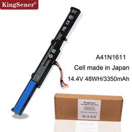 $enCountryForm.capitalKeyWord Australia - KingSener Japanese Cell A41N1611 Laptop Battery For ASUS ROG GL553 GL553VW GL553VD GL553VE GL753V FX53VD FZ53V Series A41LK5H