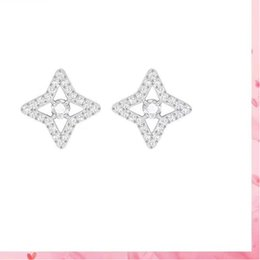 $enCountryForm.capitalKeyWord NZ - Vintage Earrings Fashion Bohemian Love Forever Women Stud Ear Jewelry Heart Shape silver 925 Brand