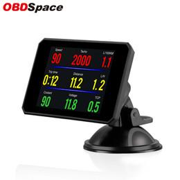 $enCountryForm.capitalKeyWord Australia - OBDSPACE P16 Car On Board Computer OBD2 Intelligent Digital Speed Projector RPM Meter Gauge OBD Hud Head Up Display