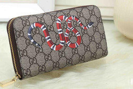 $enCountryForm.capitalKeyWord Australia - 2019 hot ! wholesale low price 2019 Mens Brand Wallet Leather With Wallets For Men Purse snake Tiger bee Wallet Men Single long Wallets