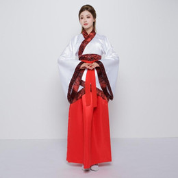4cb77e9409 summer chinese traditional women red hanfu clothing hanfu dress chinese  fairy dress tang dynasty ancient costume