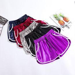 Korean Casual Sport For Women Australia - Summer Woman Fashion Korean Loose Short Pants High Waist Casual Wide Leg Short Pants Plus Size M-XXL Pant For Sport