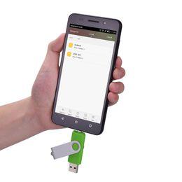 32gb Sticks Australia - Green 10 Pack 32GB OTG USB 2.0 Flash Drive Folding Dual USB Memory Stick Thumb Pen Drive Storage for Computer Android Smartphone Tablet