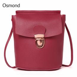 $enCountryForm.capitalKeyWord NZ - Cheap Fashion Crossbody Bags For Women 2019 New Korean Style Mini Hand Bag Bucket Lock Student Shoulder Bag PU Leather Girls Messenger Bags
