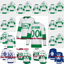 776b07ce3 2019 Toronto St. Pats Toronto Maple Leafs Jersey Mitch Marner John Tavares  Morgan Rielly Auston Matthews Kasperi Kapanen Ron Hainsey Marleau