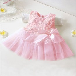 $enCountryForm.capitalKeyWord Australia - Newborn Baby Girl Christening Dress Toddler Party Gown Wedding Tutu Flower Dress Children Dress