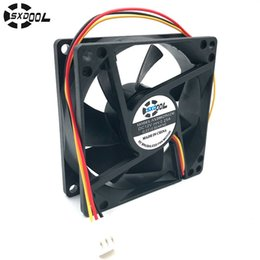 25mm dc fan online shopping - computer cooling fan mm V SXDOOL SXD8025S12M mm DC Brushless cooler A rated A P server inverter PC case