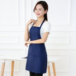 $enCountryForm.capitalKeyWord Australia - Span-new High Quality Plain Apron Dirt-resistant Apron for Chef Butcher Cooking Gadget Home Kitchen Accessories Cooking Craft
