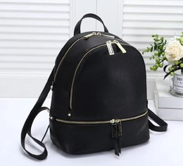 $enCountryForm.capitalKeyWord NZ - Hot women's handbags casual travel backpack women's fashion shoulder bag size 27*14*29 leather PU multi-function feature backpack