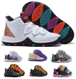 49835a98711 Taco 5 Basketball Shoes Sneakers Mens Man 2019 White Magic Ikhet Bred Neon  Blends PE 3 Mamba Concepts Kyrie Designers Baskets Ball Shoes