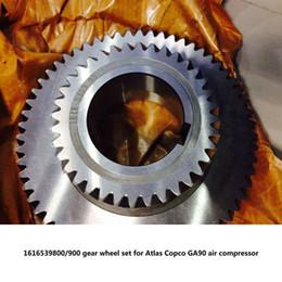 $enCountryForm.capitalKeyWord Australia - Free shipping Genuine gear wheel set driven gear shaft 1616539800 900 for Atlas Copco GA90-160 screw air compressor parts