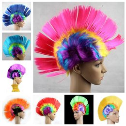 color bar products Australia - Halloween Costume Party Wigs Bar KTV Products Acting Funny Wig Color Comb Hair Cock Hair