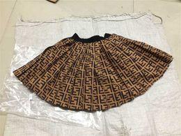 $enCountryForm.capitalKeyWord Australia - 2019 Kids girls Pleated Letter skirts Baby girl summer fashion tutu dresses children's wholesale clothes