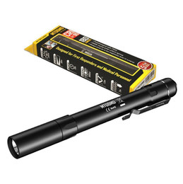 flashlight lumen Australia - Nitecore MT06MD 180 Lumen 2xAAA High CRI Nichia LED Medical Penlight Flashlight