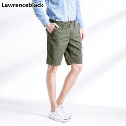 Hot Pants Shorts Men Australia - Lawrenceblack Men Cargo Shorts 2018 Hot Sale Summer Brand Clothing New Arrival Bermuda Trousers Work Casual Short Pants 1217