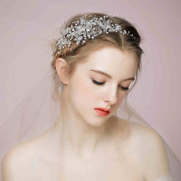 crystal twigs NZ - Twigs & Honey Wedding Headpieces Hair Accessories With Clear Crystals Women Hair Jewelry Wedding Tiaras Bridal Headbands HP016