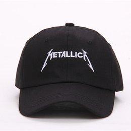 $enCountryForm.capitalKeyWord Australia - VORON 2017 fashion Metallica Custom Unstructured Baseball cap Dad Hat Adjustable men women Cotton Cap Band New-Black