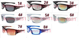 $enCountryForm.capitalKeyWord Australia - MOQ=10PCS brand New Factory Price sunglasses sports cycling sunglasses for man and woman fashion colour mirrors graffiti frame free shipping