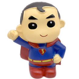 $enCountryForm.capitalKeyWord UK - 2019 Hottest Squishies Superman Slow rising deompression toy soft pu scented Slow rebound Superman for Cell phone DHL Free