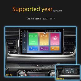 Gps Kia Rio Australia - IPS 2.5D Screen 2GB Ram 32GB Rom 10.1 inch Android 8.1 Car DVD Player For KIA RIO 2017-2018 GPS Radio Stereo WIFI TPMS