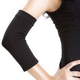 Elbow Braces Australia - 2pcs set Phenovo Elastic Compression Elbow Support Sleeve Arm Brace Wrap Guard (Black) Hot Sale
