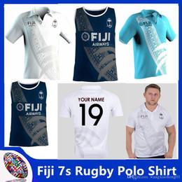 Spandex Polo Shirt Australia - Fiji 7s 2018 19 Players Rugby Polo Shirt New Zealand 2017 Jerseys New Fiji Rugby Sevens Olympic Shirt Jersey Fiji Rugby