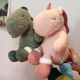 14 dolls Australia - 23cm Cute and Soft Dinosaur Doll, Plush Doll, No Shedding, Baby Sleeping with Toys, Unicorn In Arms Hot Goods