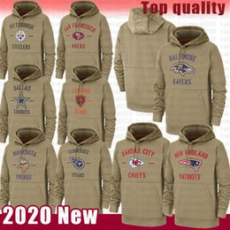 San Francisco Bear 49er Chief Cowboy Pittsburgh Hoodies Minnesota Steeler Viking Chicago Jackets Ravens