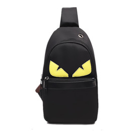 $enCountryForm.capitalKeyWord NZ - Little Monster Chest Bag Designer Messenger Bag Cartoon Crossbody Bags Oxford Shoulder Bag For Women Men Sport Storage Pouch Purse C7209